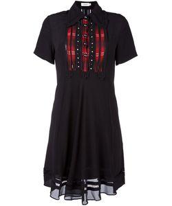 COACH | Shortsleeved Shirt Dress 6 Silk/Cupro