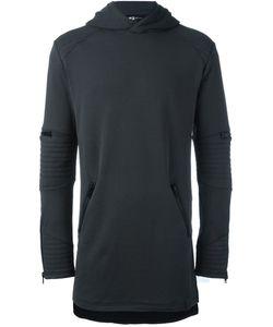 Y-3 | Longline Hoodie Xs Cotton/Polyester/Spandex/Elastane
