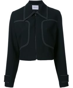 Georgia Alice | Cropped Jacket 10 Cotton/Polyester/Spandex/Elastane/Viscose