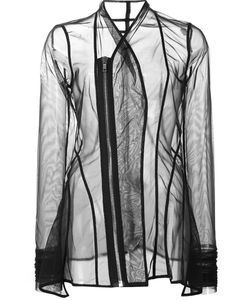 Rick Owens Lilies | Princess Sheer Fitted Jacket 40