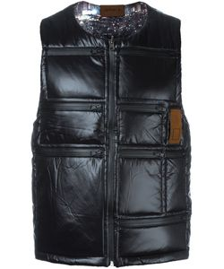 LETASCA | Quilted Zipped Vest Medium Nylon
