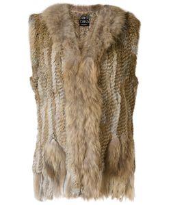Dolce Cabo | Fur Waistcoat Large Rabbit Fur/Racoon Fur