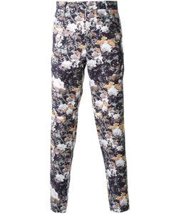 DRESS CAMP | Dresscamp Print Trousers 46 Cotton