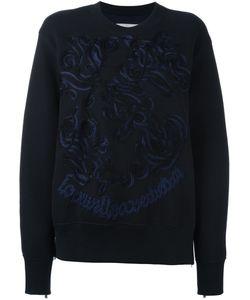 Sacai | Embroidered Sweatshirt 4 Cotton/Nylon