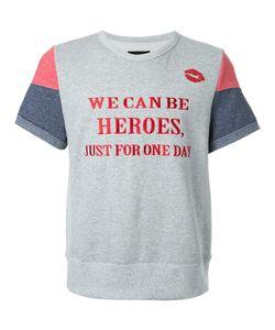 DRESS CAMP | Dresscamp Heroes Print T-Shirt Adult Unisex Medium Cotton