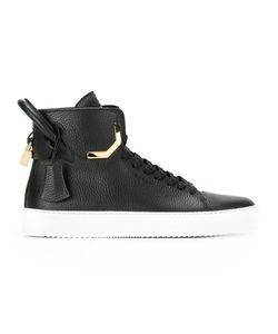 Buscemi | Matte Hi-Top Sneakers 8 Calf Leather/Leather/Rubber