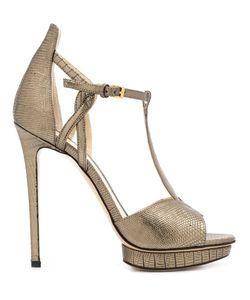 Monique Lhuillier | Mirabelle Sandals 35.5 Leather