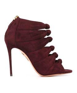 Aquazzura | Open Toe Sandals 38 Leather/Calf Suede