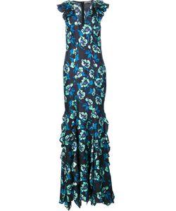 Zac Zac Posen | Print Gown 14 Silk