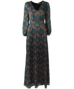 Alice + Olivia | Santina Maxi Dress 2 Silk/Polyester/Spandex/Elastane