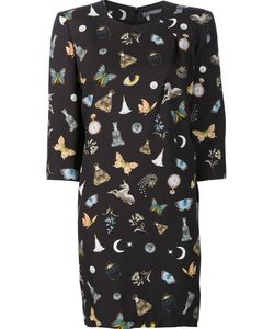 Alexander McQueen | Obsession Dress 42 Silk/Viscose