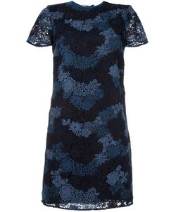 Burberry | Lace Overlay Dress 10 Silk/Cotton/Polyester
