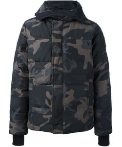 Canada Goose | Zipped Hooded Coat Xl Cotton/Polyester/Feather