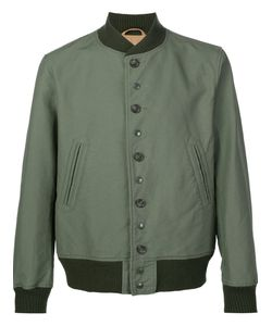 Engineered Garments | Buttoned Bomber Jacket Large Cotton