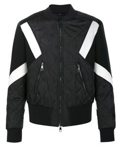 Neil Barrett | Quilted Bomber Jacket Large Polyamide/Polyester/Viscose