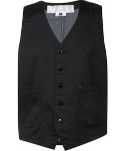 GANRYU COMME DES GARCONS | Buttoned Waistcoat Medium Cotton/Polyester