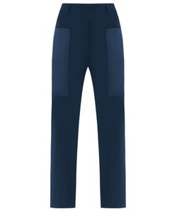 GLORIA COELHO | Slim Fit Trousers 44 Polyester/Acetate
