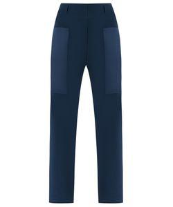 GLORIA COELHO | Slim Fit Trousers 44 Polyester/Acetate