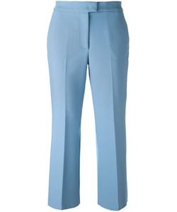MSGM | Cropped Trousers 40 Polyester/Spandex/Elastane/Viscose
