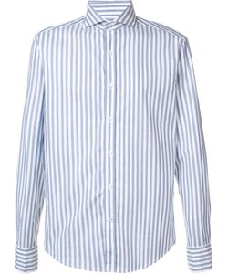 Michael Bastian | Striped Shirt 40 Cotton