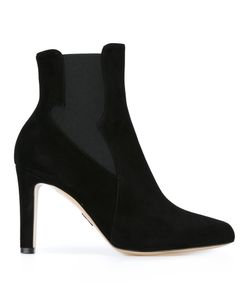 Paul Andrew | High Heeled Chelsea Boots 38 Leather/Suede/Nylon