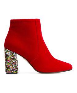 BAMS | Eli Boots 37 Leather/Polyester/Velvet