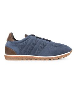 Alberto Fasciani | Sport Lace-Up Sneakers 42 Cotton/Leather/Suede/Rubber