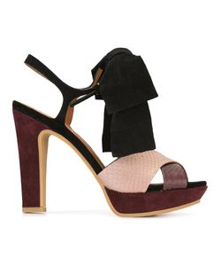See By Chloe | See By Chloé Bow Detail Sandals 39.5 Leather/Suede/Rubber