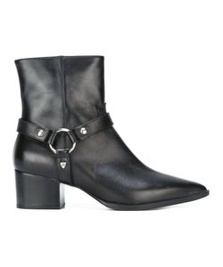 HTC Hollywood Trading Company | Buckle-Strap Ankle Boots 38