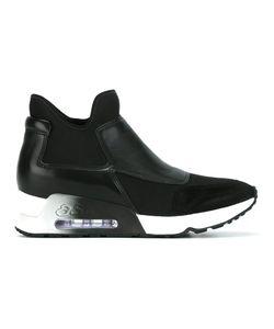 Ash | Slip-On Sneakers 38 Nappa Leather/Suede/Neoprene/Rubber
