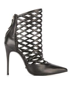 SCHUTZ | Laser-Cut Boots 37 Leather