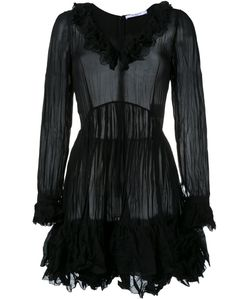 Givenchy | Creased Ruffled Dress 36 Silk/Polyester