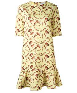 Giorgia Fiore | Doll Print Dress 40 Polyester/Spandex/Elastane