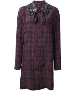 Marc Jacobs | Embellished Collar Shirt Dress 2 Silk
