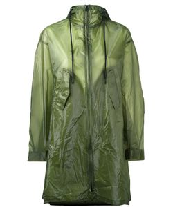 Y-3 | Semi Sheer Raincoat Small Polyamide