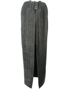 Rick Owens   Oversized Cape 40 Silk/Cupro/Viscose