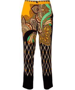 Etro | High-Waisted Trousers 46 Spandex/Elastane/Viscose