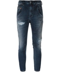 Diesel | Cropped Skinny Jeans 25 Cotton/Polyester/Spandex/Elastane