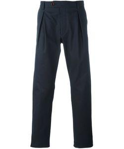 AL DUCA D'AOSTA   1902 Pleat Detail Chino Trousers 48