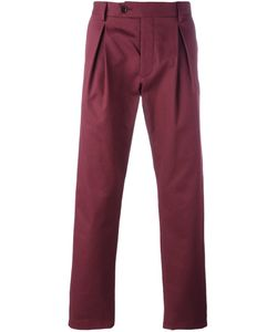 AL DUCA D'AOSTA | 1902 Pleat Detail Chino Trousers 50