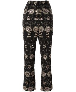 Givenchy | Embroidered Trousers 38 Silk/Cotton/Polyamide/Viscose