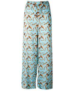 Giorgia Fiore | Doll Print Trousers 38 Cotton