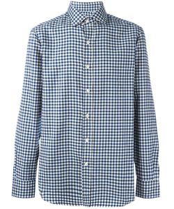 SALVATORE PICCOLO | Checked Classic Shirt 44 Cotton