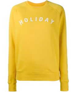 Holiday | Print Sweatshirt Small Cotton