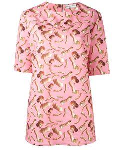 Giorgia Fiore | Doll Print T-Shirt 38 Polyester/Spandex/Elastane