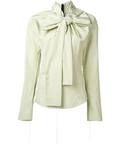 Marc Jacobs | Oversized Bow Blouse 6 Rayon