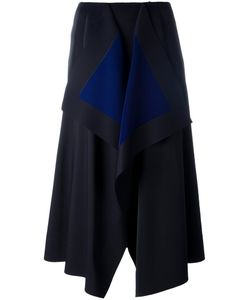 Cedric Charlier | Cédric Charlier Asymmetric Mid Skirt 42 Polyester