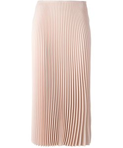 Cedric Charlier | Cédric Charlier Pleated Mid Skirt 42 Polyester