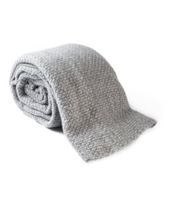 The Elder Statesman | Cashmere Panel Blanket