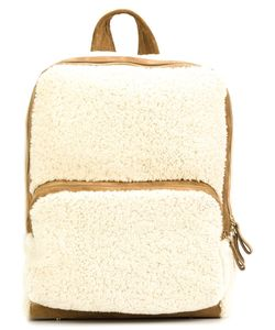 Pierre Hardy | Zipped Fur Backpack